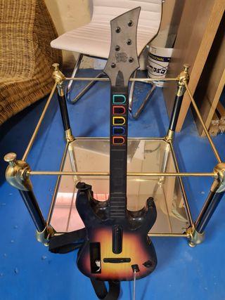 guitarra y bateria para consola wii