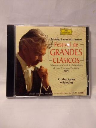 Clasicos dirigidos por H. von Karajan