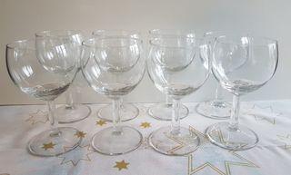 8 Copas de Vino