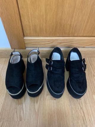 Pack de 2 pares de zapatos