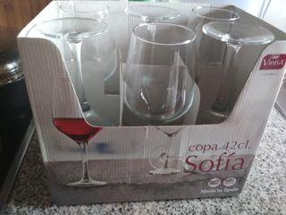 Copas de vino de 42 cl