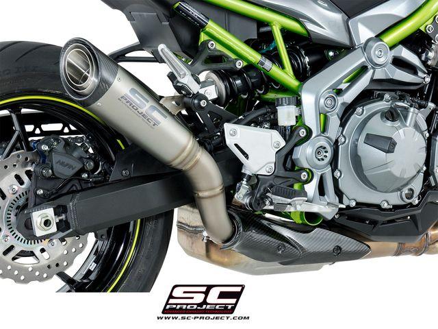 ESCAPE SC PROJECT S1 TITANIO Z900