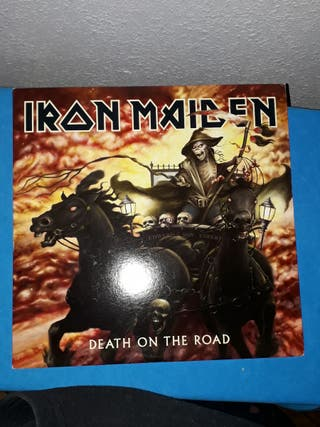 """Vinilo doble Iron Maiden """"The death on the road"""""""
