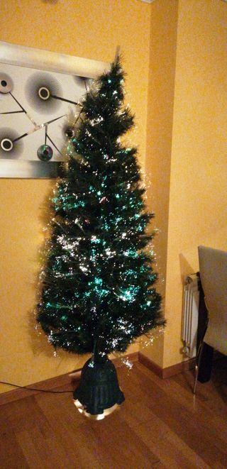 árbol fibra óptica
