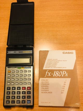 Calculadora científica Casio fx-180PA