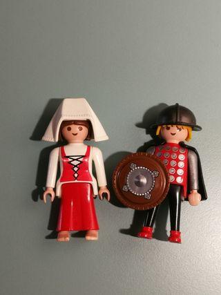 Playmobil medievales antiguo