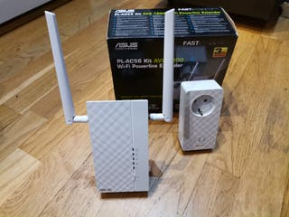 Repetidor wifi PLC Asus PL-AC56