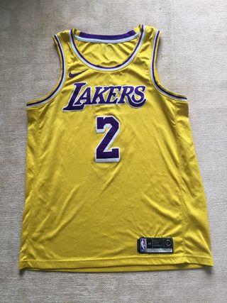 Camiseta Baloncesto Lakers Ball Nike