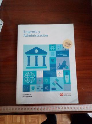 libro empresa y administración grado medio