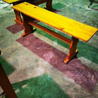 banco asiento madera