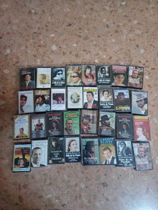 Lote 36 cintas cassette Flamenco