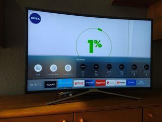 Televisión Samsung curva 40 pulgadas