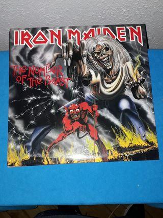 Disco de vinilo de 180 gramos Iron Maiden