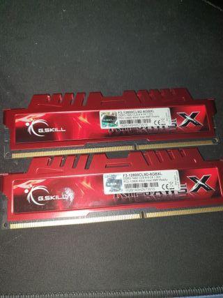 Memoria RAM G.SKILL 8gb 1600Mhz