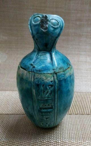Arte funerario egipcio, vaso canope