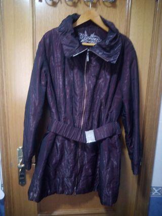 chaqueta larga de señora