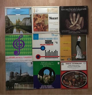 DISCOS DE VINILO música clásica