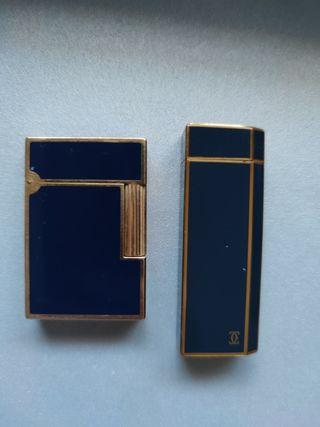 Mechero Cartier y Dupont