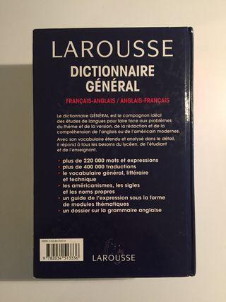 Diccionario francés - inglés/ingles- francés