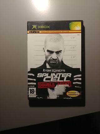 Splinter Cell Double Agent Xbox original clasica