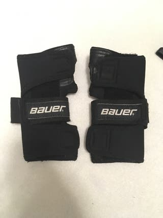 Muñequeras patinaje Bauer