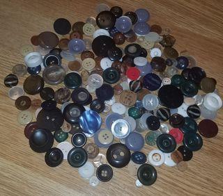lote botones antiguos años 50-80