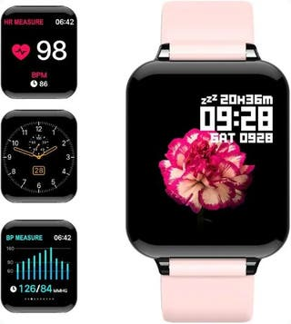 Reloj inteligente IP67 Rosa