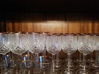 Copas vino Cristal Bohemia