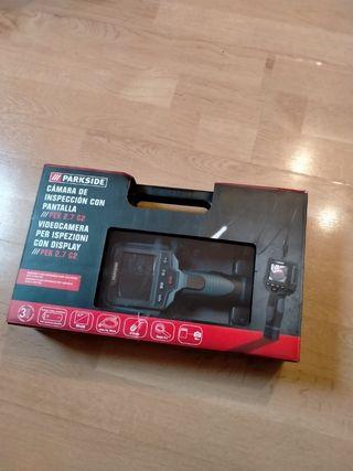 cámara de inspección con pantalla
