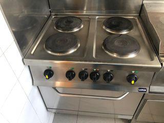 Cocina eléctrica con Horno.