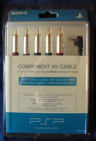 COMPONENT AV CABLE PSP-2000 SERIES ONLY - SONY -