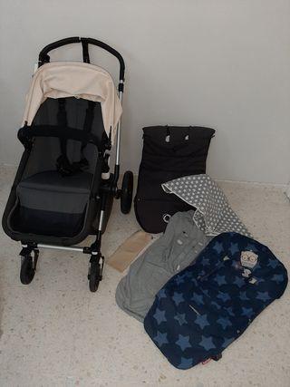 Bugaboo Camaleon,saco,2 capotas, 2 fundas silla...