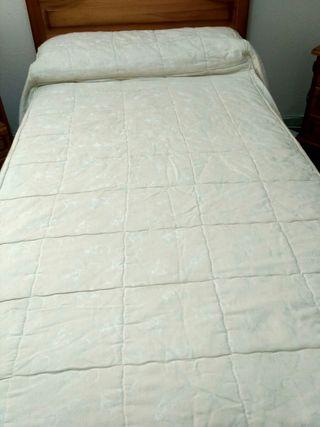 Edredón de cama de 105 cm de ancho