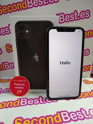 Movil iPhone 11 128gb con auriculares y cargador