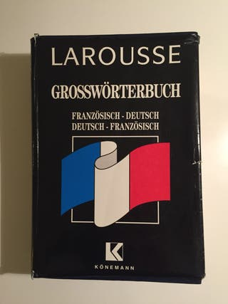Regalo gran diccionario francés-alemán-francés