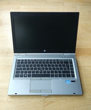 Portátil HP Elitebook 8470p Intel i5 8GB 500GB