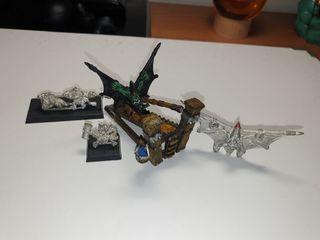 Set completo Lanza-Goblins con catapulta Warhammer