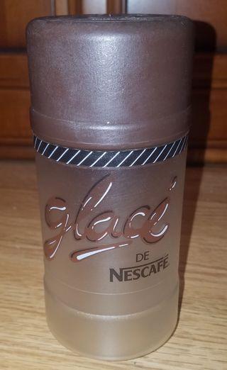 vaso vintage mezclador glacé de nescafe