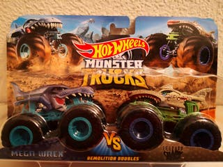 Hot Wheels Monster Trucks, Demolition Doubles.