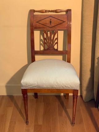 Sillería antigua - sillas y sillones