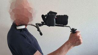 Soporte de hombro DSLR, MÓVIL, VIDEOCÁMARA