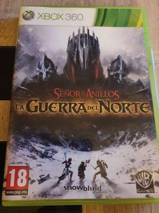 Señor de los anillos- La guerra del norte Xbox360
