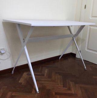 Mesa escritorio madera y metal EL CORTE INGLES