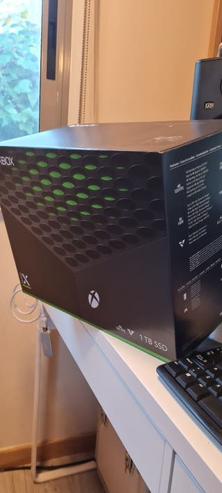 XBOX Series X sin usar cambio x PS5