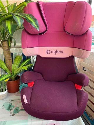 Silla coche Cybex Solution X-Fix 2/3 niña isofix