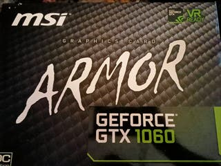 Gtx geforce 1060 6gb con caja