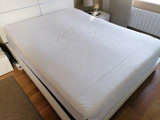 topper colchón cubrecolchon viscoelastico 150