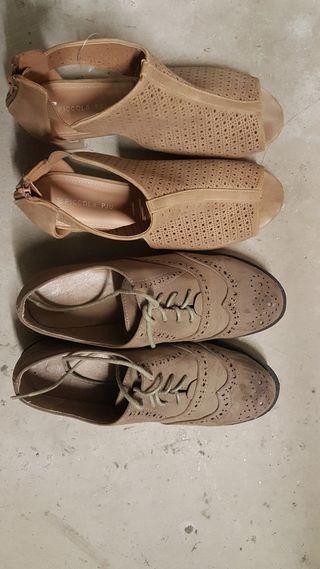 zapatos talla39/40 para estrenar
