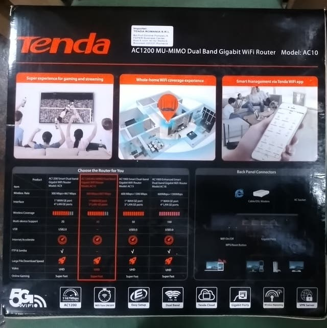 Wifi router Tenda