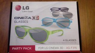 Gafas 3D de LG sin estrenar